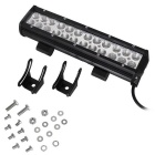 72W 24-LED 6120lm Combo WorkLight Bar Offroad SUV ATV Lamp (DC 10~30V)