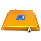 LCD Display 2G / 3G Mobile Phone Signal Booster w/ Antenna - Golden