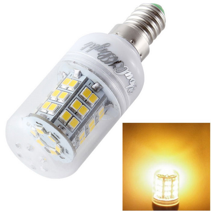 YouOKLight E14 6W LED Corn Light Bulb Lamp Warm White 600lm 48-SMD