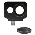 PANNOVO CNC Protector Frame Case + 37mm UV Filter for Xiaomi Xiaoyi - Black