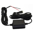 Jtron Car DVR Dedicated Power Supply Box Buck Line - Black