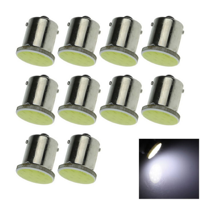 1156 2W COB LED Turn Signal Rear Lights Bulb White 6000K 50lm (10PCS)