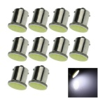1156 2W COB LED Turn Signal Rear Lights Bulbs Lamps White 6000K 50lm (10 PCS)