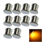 1156 2W COB LED Turn Signal Rear Lights Bulbs Lamps Yellow 577nm 50lm (10 PCS)