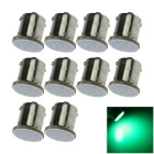 1156 2W COB LED Car Turn Signal Rear Light Bulb Lamp Green 492nm 50lm  (10 PCS / 12V)