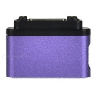 Magnetic Connector w/ Micro 5-Pin / Indicator for Sony Z3 / Z3 mini / Z2 / Z2A / Z1+ More - Purple