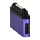 Magnetic Connector w/ Micro 5-Pin, Indicator for Sony Z3/Z2 - Purple