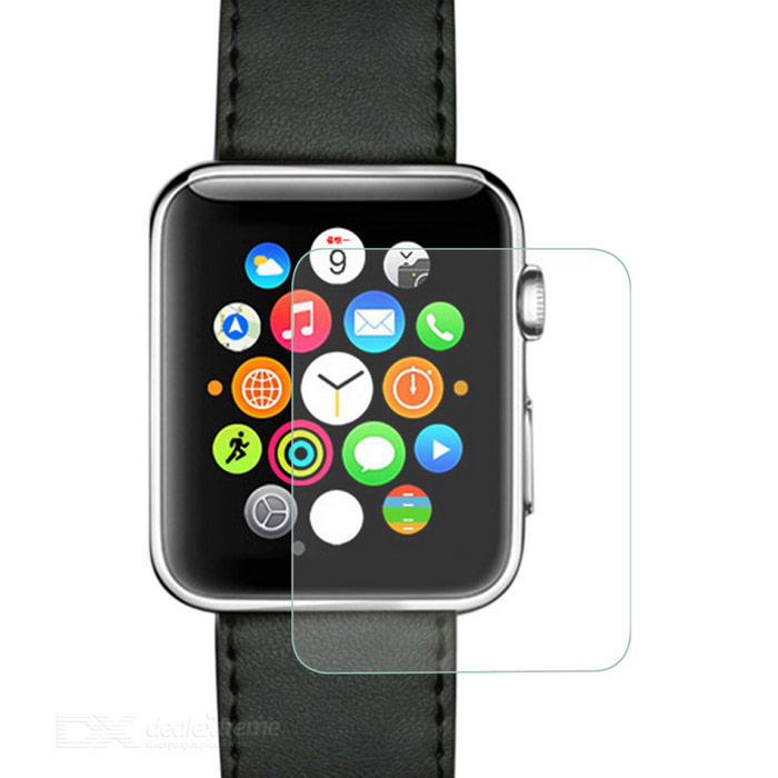 PUDINI Tempered Glass Screen Film for APPLE WATCH 38mm - Transparent