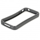 Protective Silicone Bumper for iPhone 4 - Black