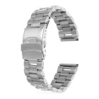 Mini Smile Stainless Steel Watchband w/ Connectors for Samsung R380/R381/R382 / LG W100/W150 / Asus