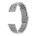 Mini Smile Watchband w/ Connectors for Samsung R380/R381/R382 - Silver