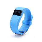 "0.44"" OLED BT Smart Bracelet w/ Heart Rate Monitor - Blue"
