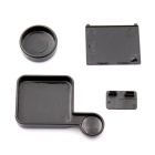 30mm Lens Protector Set for GoPro Hero 3+ / 4 - Black