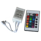 JIAWEN 36W RGB LED Strip Control Box w/ 24-Key Remote Control (DC 12V)
