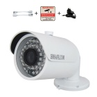 HOSAFE 1.3MP 960P HD IP-camera w / POE kit, 36-IR-LED - wit (eu stekker)