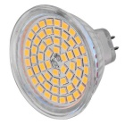 MR16 (GU5.3) Os bulbos dos projectores de 5W LED aquecem o branco 3000K 60-SMD (5PCS)