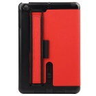 Toothpick Grain Protective Case w/ Stand for IPAD MINI - Red