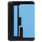 Toothpick Grain Protective Case w/ Stand for IPAD MINI - Light Blue