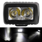 Spot 10W 2-LED Waterproof Warm White Car Working Light Bar / Daytime Running Light (DC 10~30V)