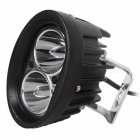 Spot 20W 2-LED Waterproof White Car Working Light Bar / Off-Road Lamp