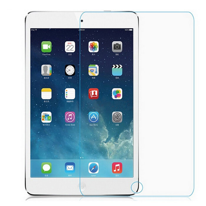 Asling 0.26mm gehard glas screen protector voor iPad - doorzichtig