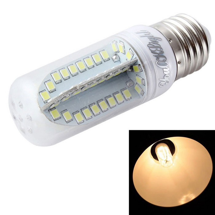 YouOKLight E27 9W LED Corn Bulb Lamp Warm White Light 3000K 84-SMD