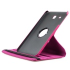 ENKAY Rotation Protective Case for Samsung Galaxy Tab E9.6 - Deep Pink