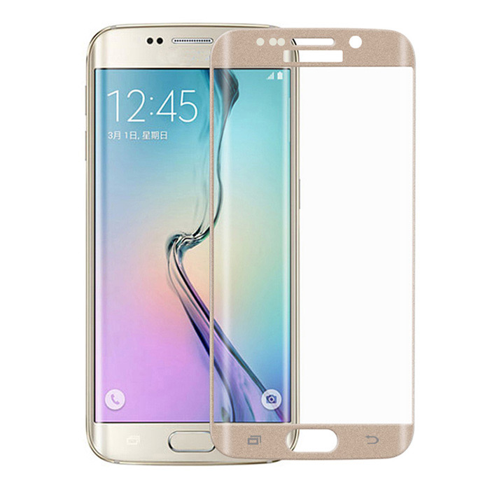 3D 9H Full Cover Arc Tempered Glass Screen Guard Protector for Samsung Galaxy S6 Edge