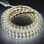 JRLED Waterproof 48W 300-SMD 4000lm Cold White LED Light Strip (5m)