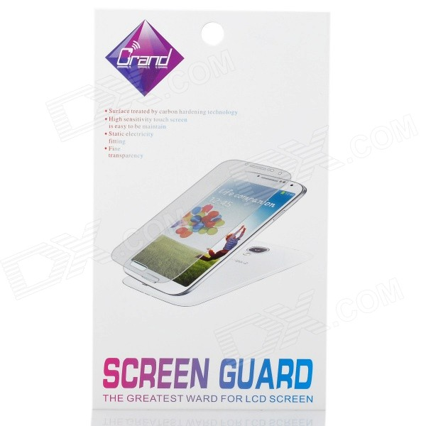 Glare-free LCD Screen + Backside Protector Set for Iphone 4 (2-Piece Pack)