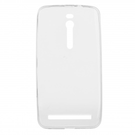 """Protective TPU Back Case Cover for Asus ZenFone 2 5.5"""" - Transparent"""