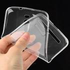 "Protective TPU Back Case Cover for Asus ZenFone 2 5.5"" - Transparent"