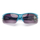 ROBESBON Explosion-proof Lense Cycling Glasses - Sky Blue + Deep Green