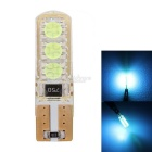MZ T10 3W Car LED Air Light / Marker Light / Door Light Ice Blue 465nm 6-2525 SMD (12V DC)