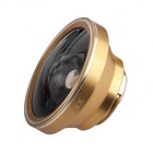 Universal Aluminum Alloy Super Wide 0.4X Mobile Phone Lens - Gold