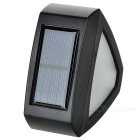 Outdoor Solar Power Wall / Doorplate / Fence / Courtyard Lamp - Black