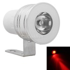 MZ Waterproof 3W LED Car Flashing Headlight / Fog / DRL / Brake / Warning Lamp Red 180lm (DC 12V)