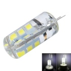 G4 3W LED Corn Bulb White Light 6000K 270lm 24-SMD 2835 (DC 12V)