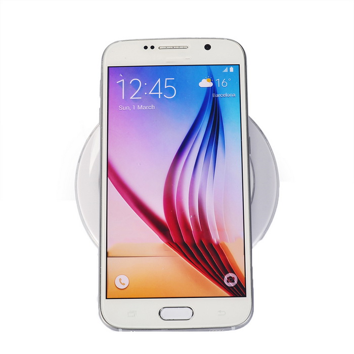 Itian A1 Qi Standard Mobile Wireless Power Charger - White