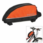 Yanho Fahrrad Oxford Cloth Top-Schlauch-Beutel - Schwarz + Orange (2L)