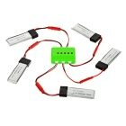 X5A-B01 500mAh Battery + 1-to-5 Charger + TOL Adapter + Charge Adapter + Data Cable + DYX-007 Cable