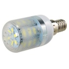 E14 7W LED Corn Light White 6000K 630lm 24-SMD 5730 w/ Stripe Cover (AC 200~240V)