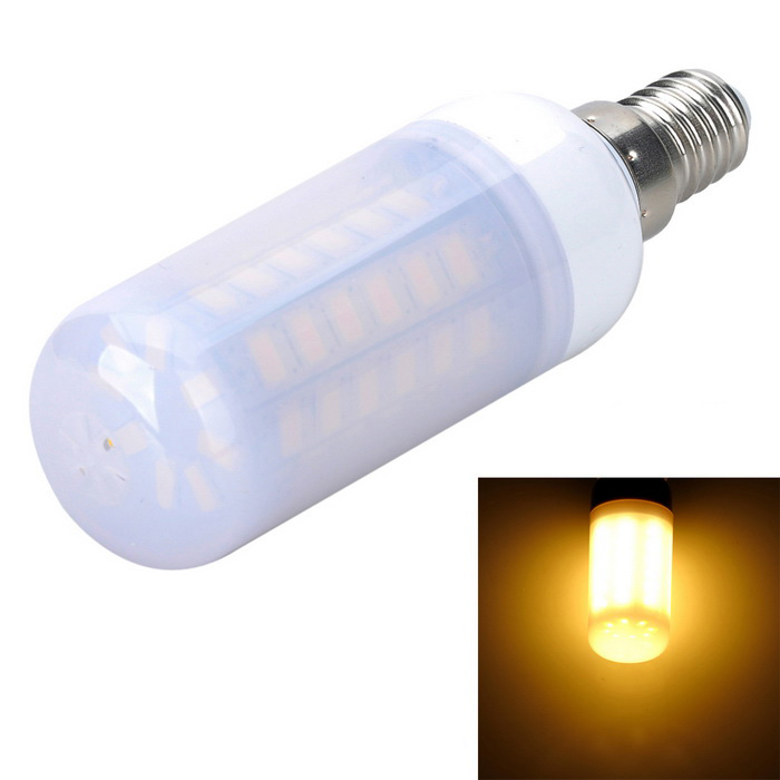 Marsing E14 Frosted 12W 1000lm 54-SMD LED Warm White Light Corn Bulb