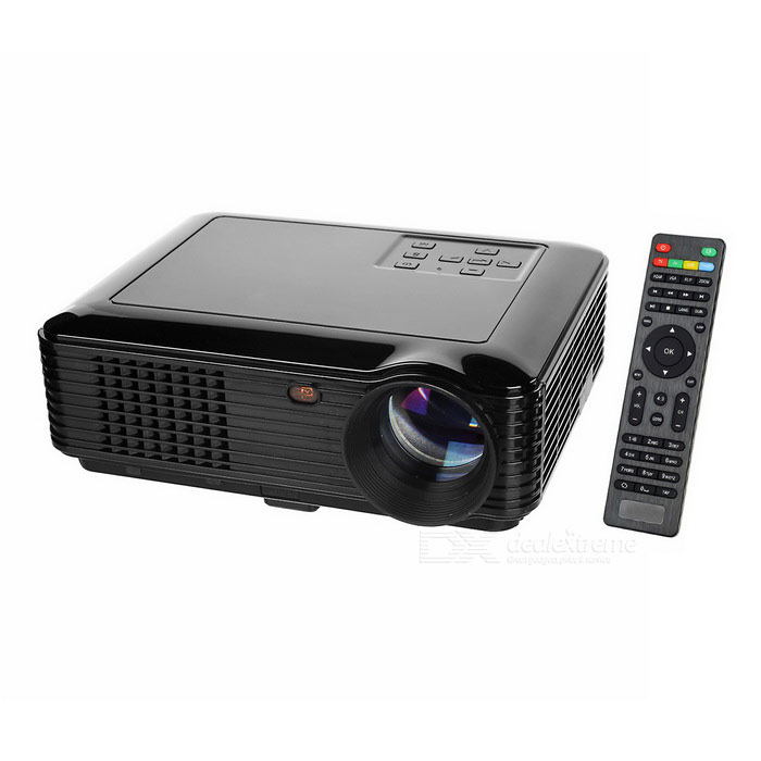 SV-228 FHD 1080p HDMI multimedia LED-home theater projector - zwart