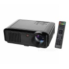 SV-228 Full HD 1080P HDMI Multimedia LED Home Theater Projector - Black