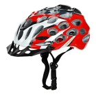 CTSmart Cycling Riding Honeycomb Design PC + EPS Bike Safety Helmet - Black + Red