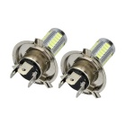 Marsing H4 17W LED Car Front Fog Lamp White 6500K 1000lm 33-SMD (2PCS)