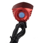 FandyFire T6 3-Mode Cold White LED Headlight for Mountain Bike - Red