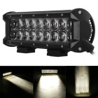 90W 18-LED Off-road 4WD UTV Worklight Bar Lamp w/ Lens White Spot Beam 7650lm 6000K (DC 10~30V)