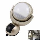 1W LED 360 ° Rotatable Magnet + Suction Cup Tipo Corpo IR Sensor Luz